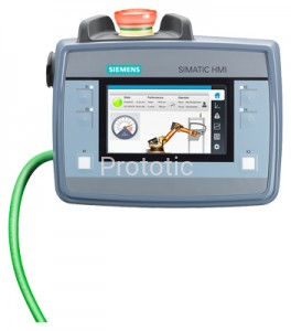SIMATIC HMI KTP400F MOBILE WITH INTEGRATED ACKNOWLEDGEMENT BUTTON